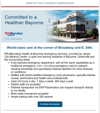 Committed to a Healthier Bayonne